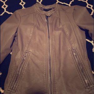 Express pleather jacket